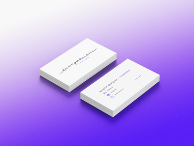 Business Cards brand identity brand design mockup business card typography icon logo branding graphic design graphic design