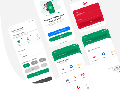 NonProfit Donation App charity mobile app design payment method dribbble interface donations