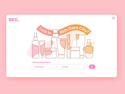 Daily UI 03 Landing Page illustrator design website branding illustration web ui ux dailyui