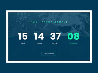DailyUI 014 Countdown Timer countdown timer countdowntimer website web ui ux design dailyui
