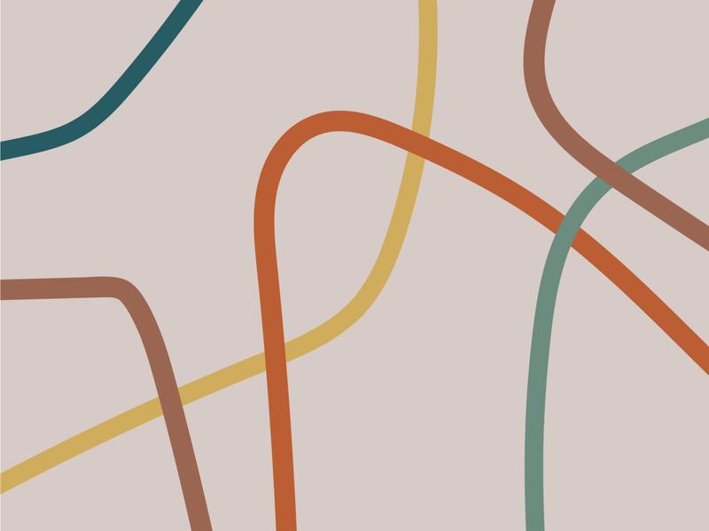 Amanda Mausner Visual Identity visual identity branding pattern brand identity