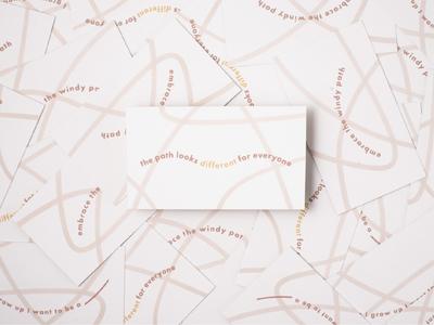 Amanda Mausner Visual Identity