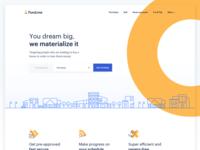Fund.me — Homepage