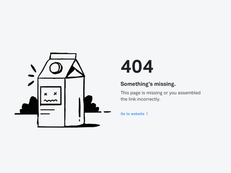 OpenNode 404 flat 404 page 404 illustration clean white desktop significa ui