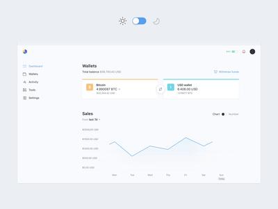 Opennode - Light and Dark UI Platform