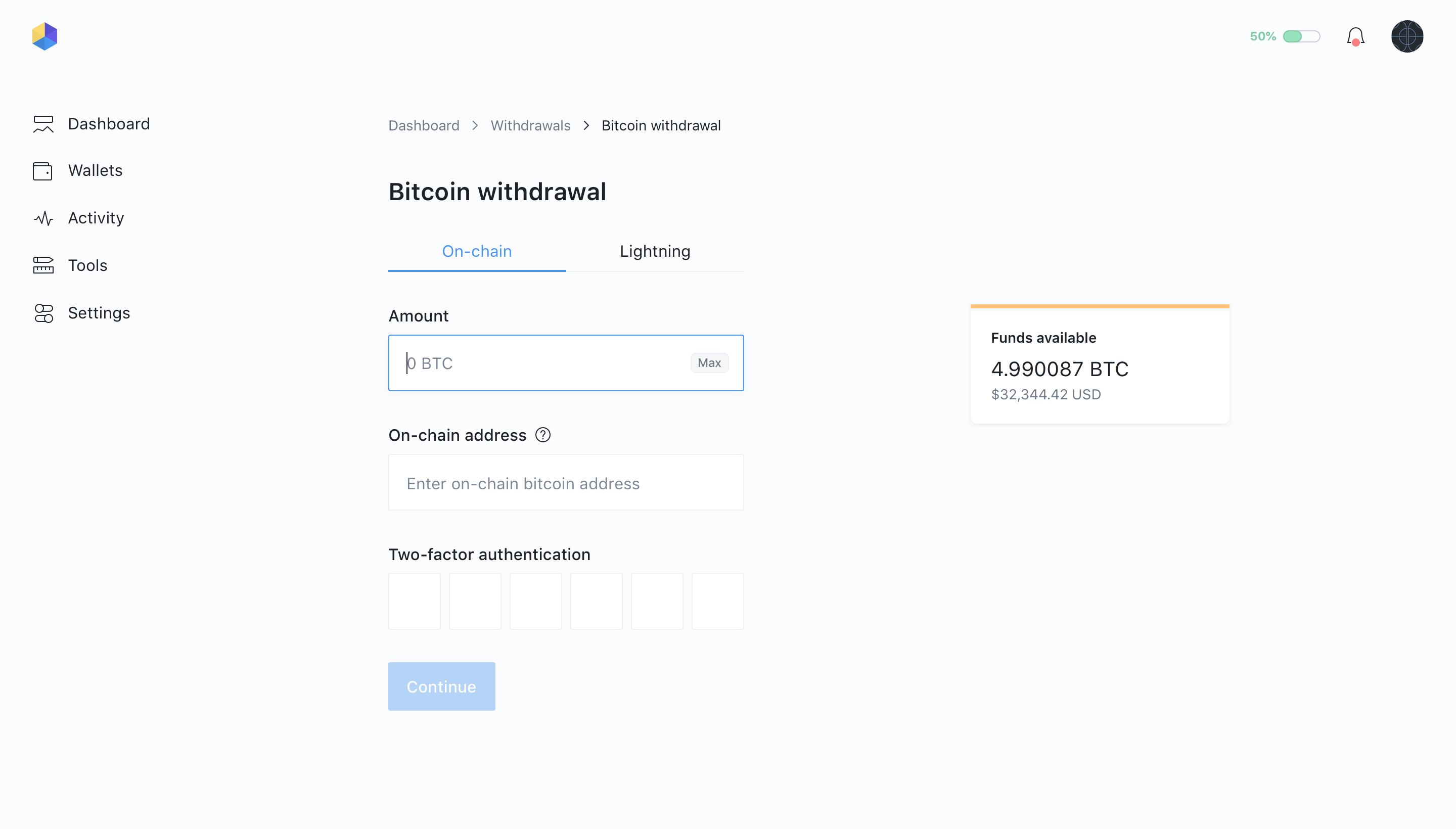 02   withdrawals   bitcoin withdrawal 2x