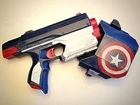 Captain America - Nerf SideStrike