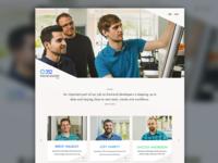 352 Front-End Developer Site