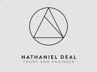 Nathaniel deal logo concept