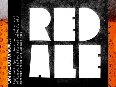 Broadway Brewing: Red Ale