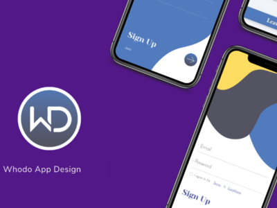 App design app ui ux adobe xd