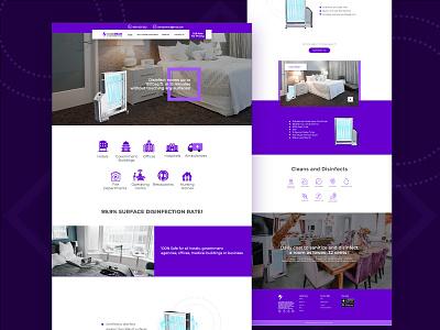 Clean Beam Latest Website Design marketing graphicdesigner art clean ui psd template prototype creative business uidesign uiux landingpage ui
