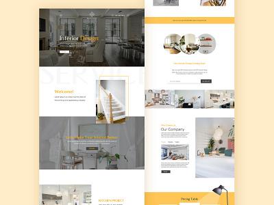 Interior Website Layout Design interiordesigner art homedesign interiors décor home architecture homedecor interior design web graphic design