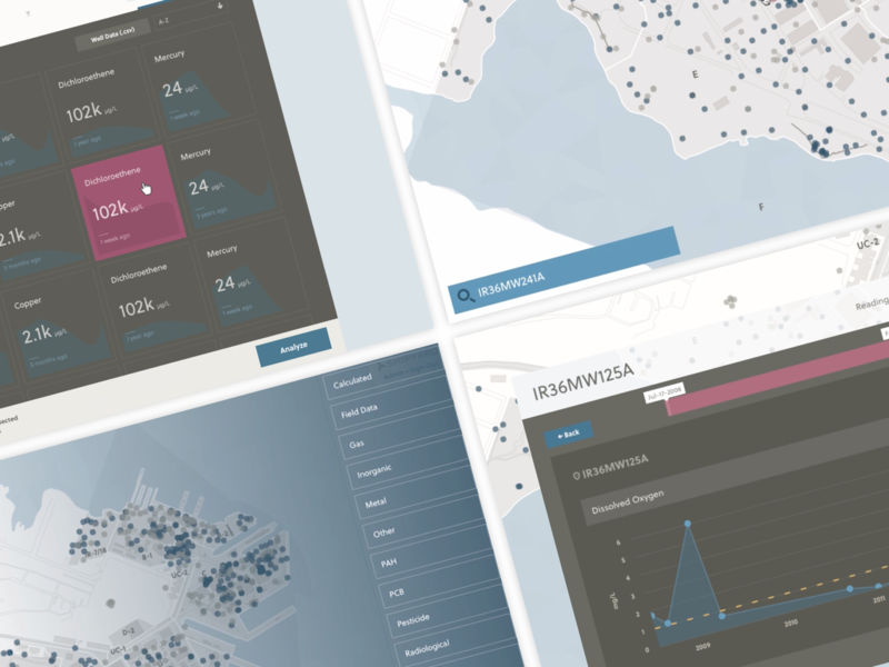 Shipyard Screens data viz app design data visualization florida orlando web app case study shipyard