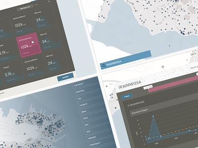Shipyard Screens data viz app design data visualization florida orlando web app case study shipyard
