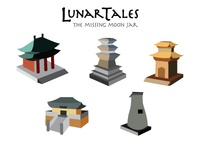 Lunar Tales Isometric Forms