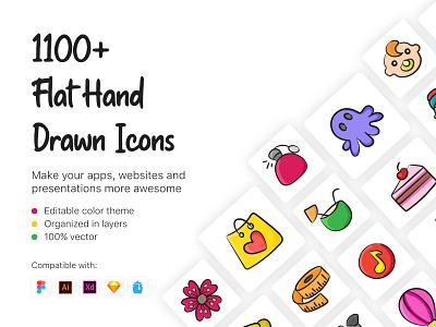 1100+ Flat Hand Drawn Icons line icon hand drawn love icon hand drawn business icons hand drawn icons doodle icons outline line hand drawn