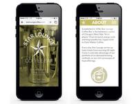 Star Lounge Coffee Bar website