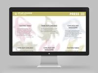 Star Lounge Coffee Bar website — press section
