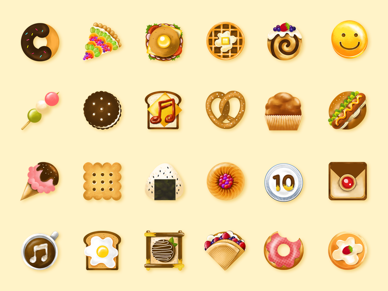 Dessert icon illustration icon ui app