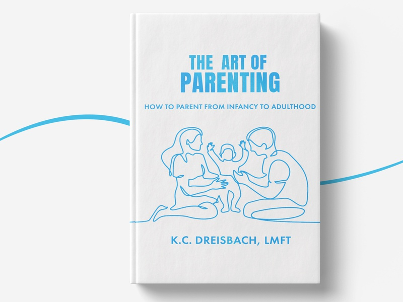 the ART of Parenting parenting vector illustration bookcoverdesign bookcover design