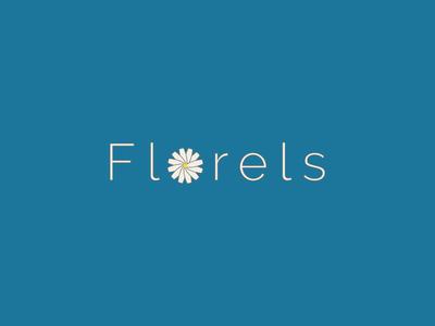 Florels art illustrator minimal illustration flat logo vector design branding