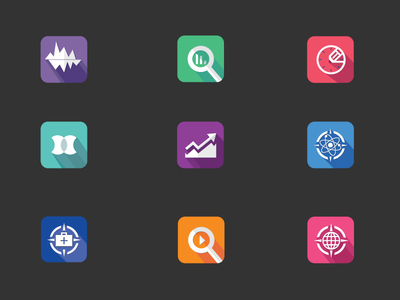 Cast Shadow Icons