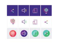 Multi Color Icons