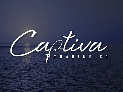 Captiva Trading Co. captiva fishing clothing logo