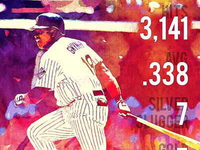Tony Gwynn Tribute mr. padre baseball