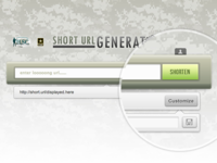 Army Short URL App w/ jQuery Effects (Live Demo)