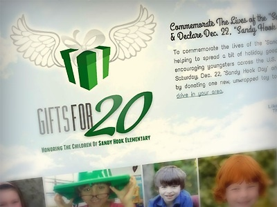Gifts For 20 :: In Honor Of Sandy Hook Students charity gifts honor wings