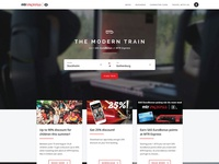 MTR Express website concept