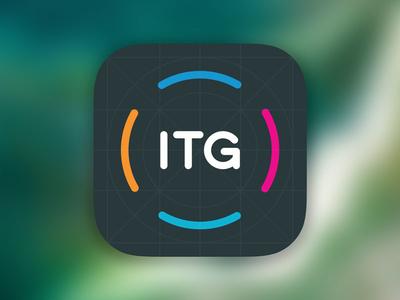 ITG Appen icon design user interface design design icon ios