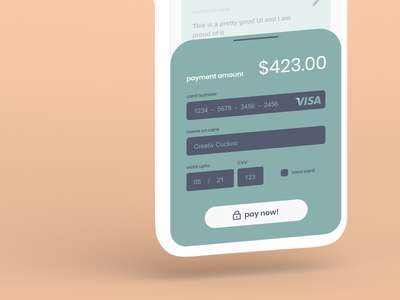 #DailyUI challenge 002 credit card checkout typography ux ui design daily ui dailyui