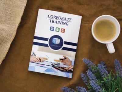 Book Cover Designed on Corporate Training for Aswini Bajaj Sir graphicdesigner