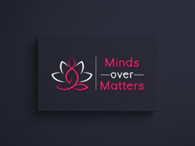 Logo designed for Minds Over Matters @minds_over_matters graphicdesigner