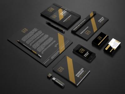 Branding for an Interior Company graphicdesigner branding logo