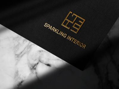 Logo designed for Sparkling Interior Company graphicdesigner