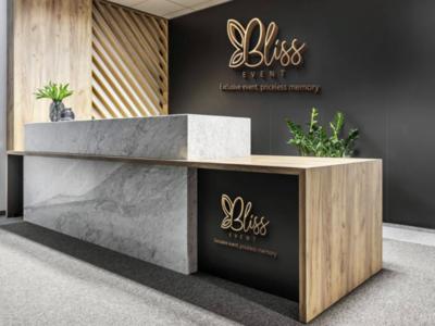 Logo designed for Bliss Event graphicdesigner
