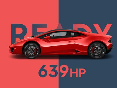 Lamborghini car lamborghini branding design ux illustration