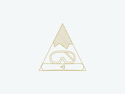 King of the Mountain deathly hallows goggles mountains snowboarding