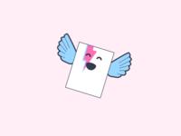 Blue Folder Wings