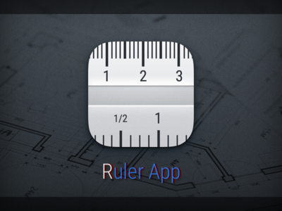 Icon for Ruler App