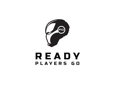 Ready Players Go Logo realestate badge badge design design branding typography minimalist logo minimal business