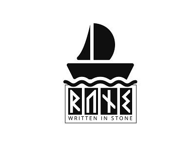 Rune Logo Design badge design illustration badge branding design typography minimalist logo minimal business