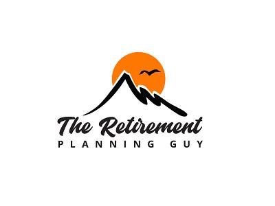 The Retirement Planning Guy design retirement typography minimalist minimal business