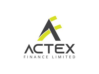 Actex Logo  Design design badge flat limited finance realestate branding typography minimalist minimal business