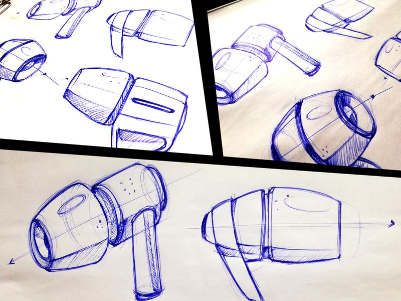 Product Sketch - Ear Plug Concept