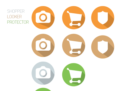 Badges shopper looker protector marketbook